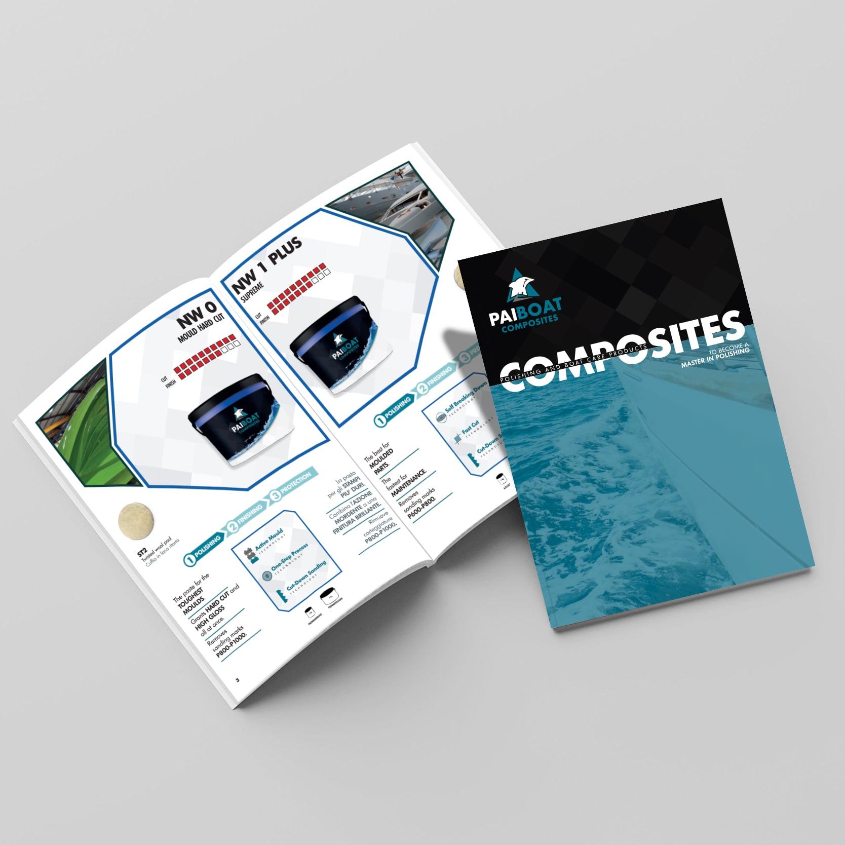 Pai Boat Composites catalogue polishing compound for composites